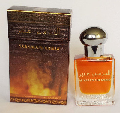 HARAMAIN AMBER by Al-Haramain, Attar, Fragrance Oil 15 ML