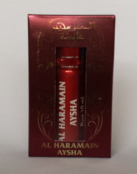 AYSHA by Al-Haramain Perfumes, Itr, Attar, Fragrance Oil 10 ML