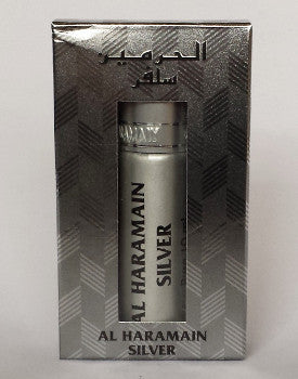 SILVER by Al Haramain Perfumes Attar, Itr Fragrance Oil 10 ML