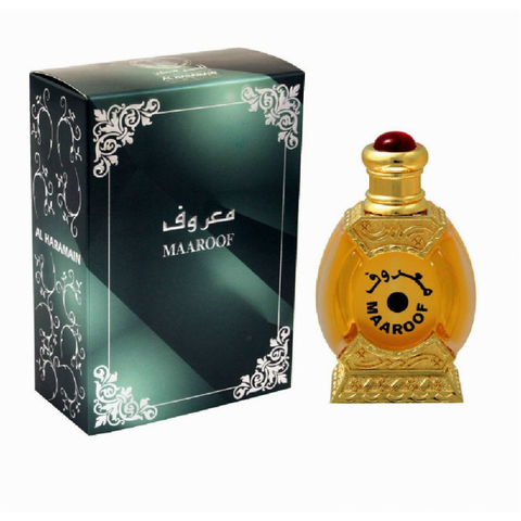 MAAROOF by Al-Haramain, Arabian Attar, Itr Fragrance Oil 25 ML