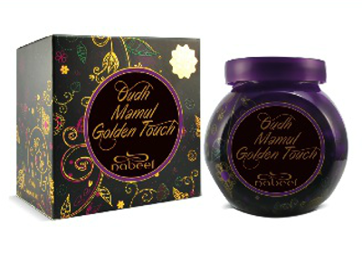 OUDH MAMUL GOLDEN TOUCH by NABEEL Incense by Nabeel 40 gms