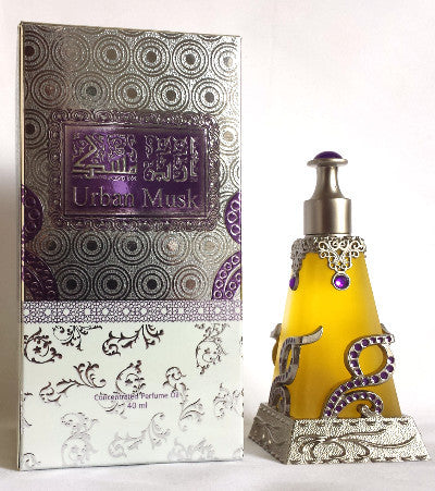 URBAN MUSK by MiskShoppe Perfumes Arabian, Attar, Itr, Fragrance Oil 40 ML