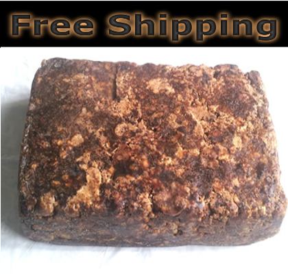 Hand Made Natural Raw Unrefined African Black Soap