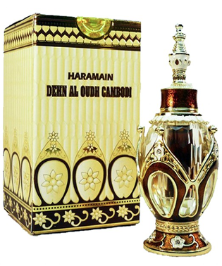 DEHAN AL OUD COMBODI by Al Haramain Perfumes, Oud, Oudh, Agarwood, Arabian Attar, Itr, Fragrance Oil 3 ML