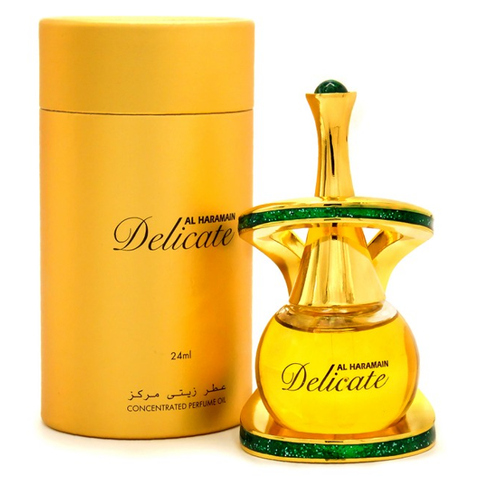 DELICATE by Al-Haramain, Arabian Attar, Itr Fragrance Oil 24 ML