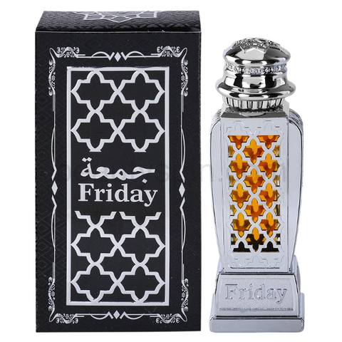 FRIDAY by Al-Haramain, Arabian Attar, Itr Fragrance Oil 15 ML