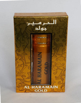 GOLD by Al-Haramain Perfumes, itr, Attar, Fragrance Oil 10 ML