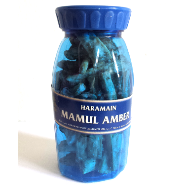 Mamul Amber by AL HARAMAIN  Bakhoor, Incense 80 Grams