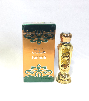 JANNAH by Al-Haramain, Arabian Attar, Itr Fragrance Oil 12 ML