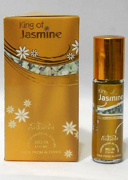KING OF JASMINE by Nabeel Perfumes, Attar, Itr, Fragrance Oil 6 ML