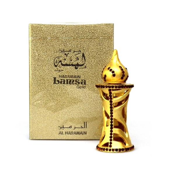LAMSA GOLD by Al-Haramain, Arabian Attar, Itr Fragrance Oil 12 ML
