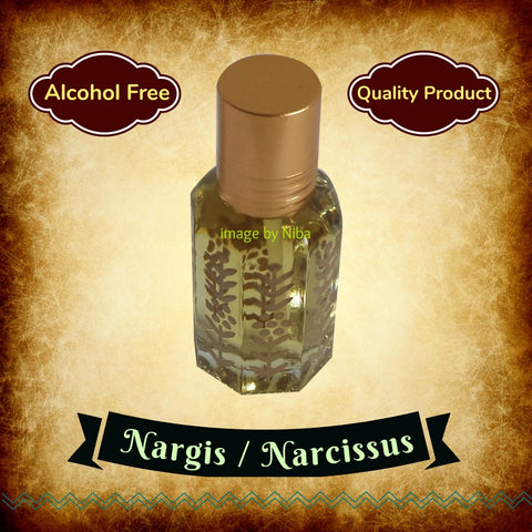 NARGIS / NARCISSUS  Indian, Arabian, Attar, Itr, Perfume, Fragrance Oil