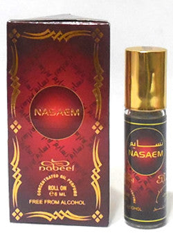 NASAEM by Nabeel Perfumes, Attar, Itr, Fragrance Oil 6 ML