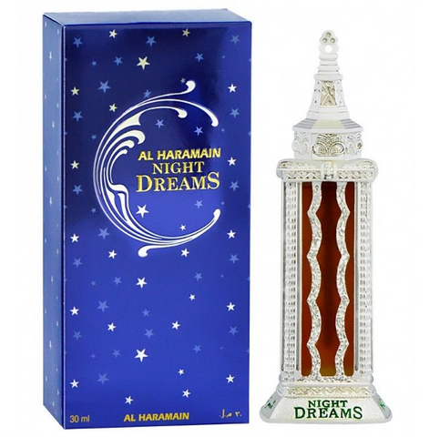 NIHGT DREAMS by Al-Haramain, Arabian Attar, Itr Fragrance Oil 30 ML