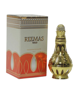 REEMAS GOLD by KHADLAJ Perfumes Arabian, Attar, Itr, Fragrance Oil 28 ML