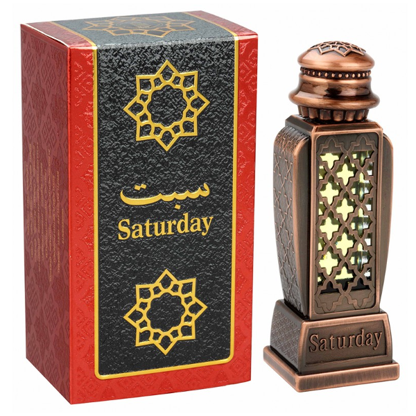 SATURDAY by Al-Haramain, Arabian Attar, Itr Fragrance Oil 15 ML