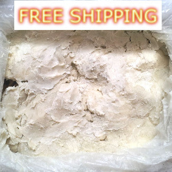 5 Pounds - 100 % Natural Pure Raw Shea Butter Unrefined From Ghana.