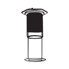 Aeropress Illustration
