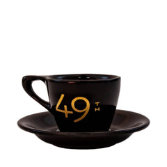 49th Parallel Black & Gold Espresso Set - LIMITED EDITION