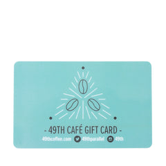 Forty Ninth Parallel Café Giftcard