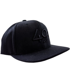 49th Snapback Handstiched - Noir
