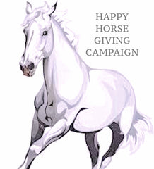 HAPPY HORSE GIVING CAMPAIGN