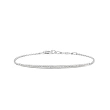 Load image into Gallery viewer, 14k Diamond Fine Line Bracelet