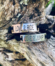 Load image into Gallery viewer, LOVE 2 RIDE BRACELET