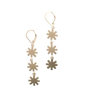Load image into Gallery viewer, Triple Distant Star Earrings