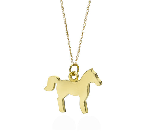 Happy Horse Necklace