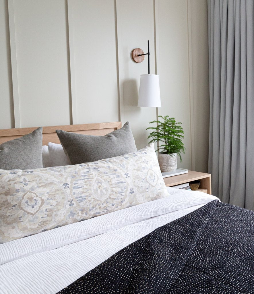 Bedroom Makeover: A small city master becomes a cozy retreat