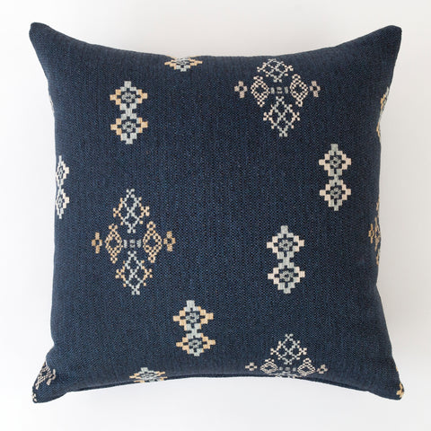 Austin Indigo pillow southwestern print from Tonic Living