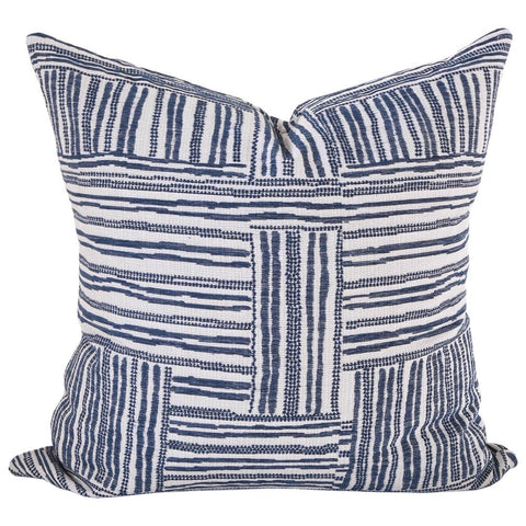 Quinn, Indigo pillow by Tonic Living