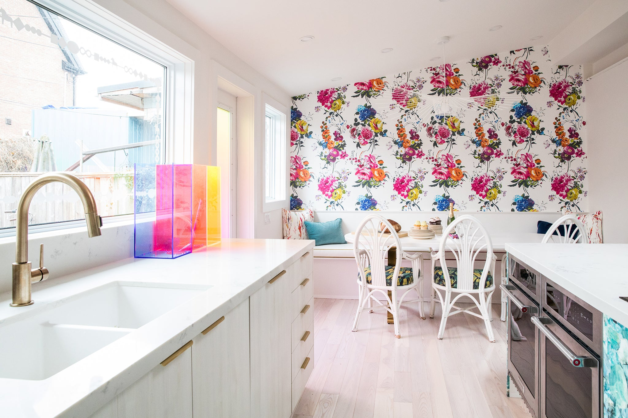 Tiffany Pratt colourful Toronto home with Tonic Living
