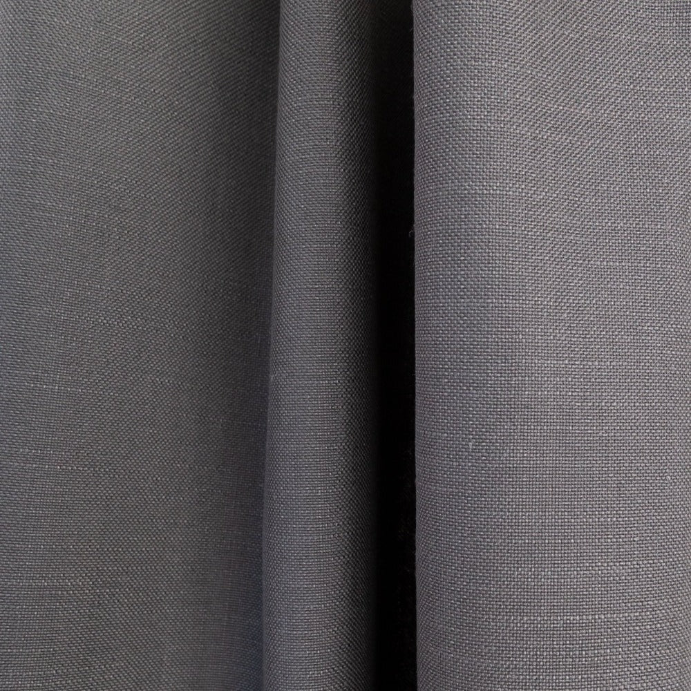 Adelaide Fabric, graphite, a medium grey, linen blend fabric from Tonic Living