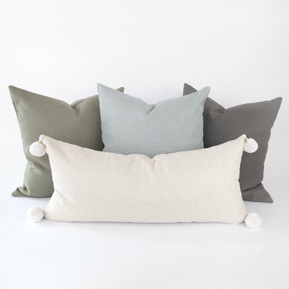 Adelaide Pillow Collection, a linen blend pillow collection from Tonic Living