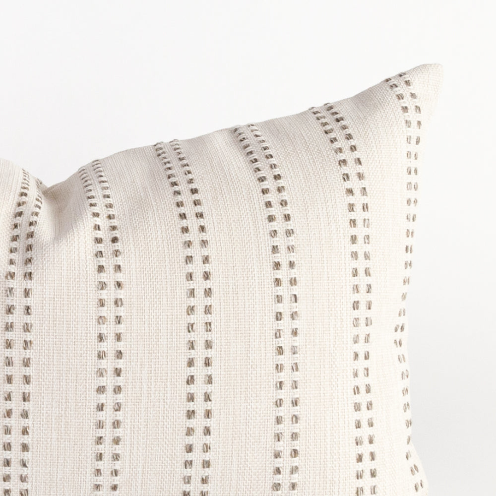 Elodie striped lumbar pillow from Tonic Living