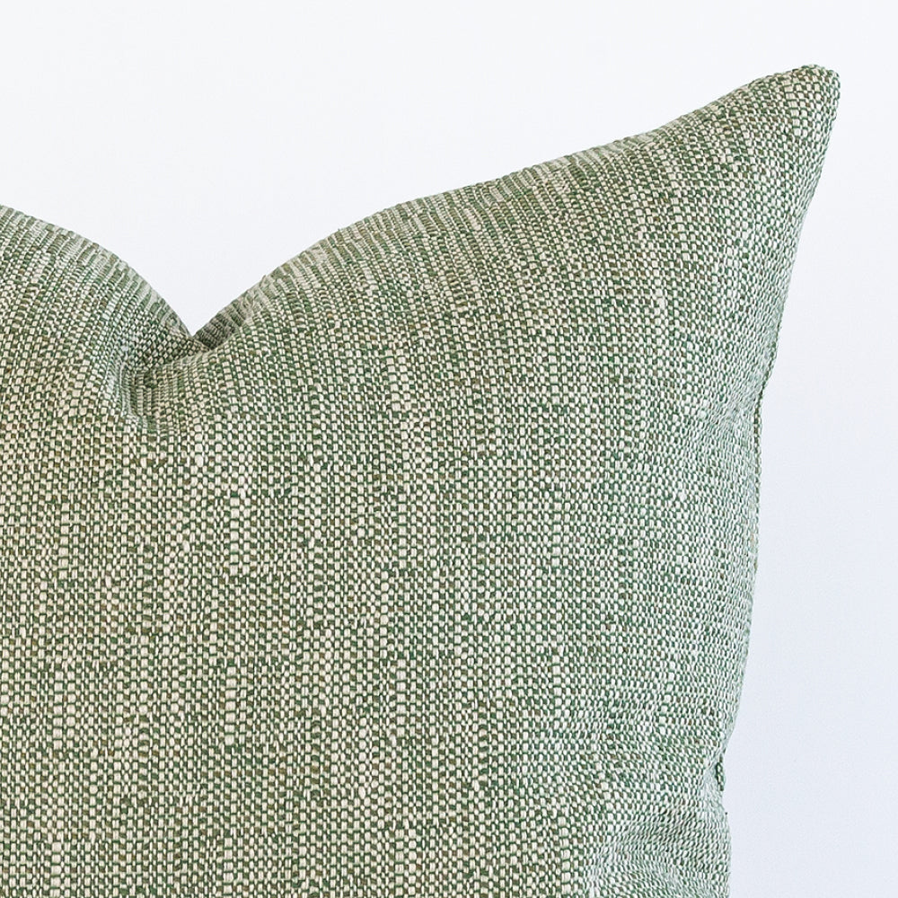 Felix Grass, a textured green outdoor pillow from Tonic Living