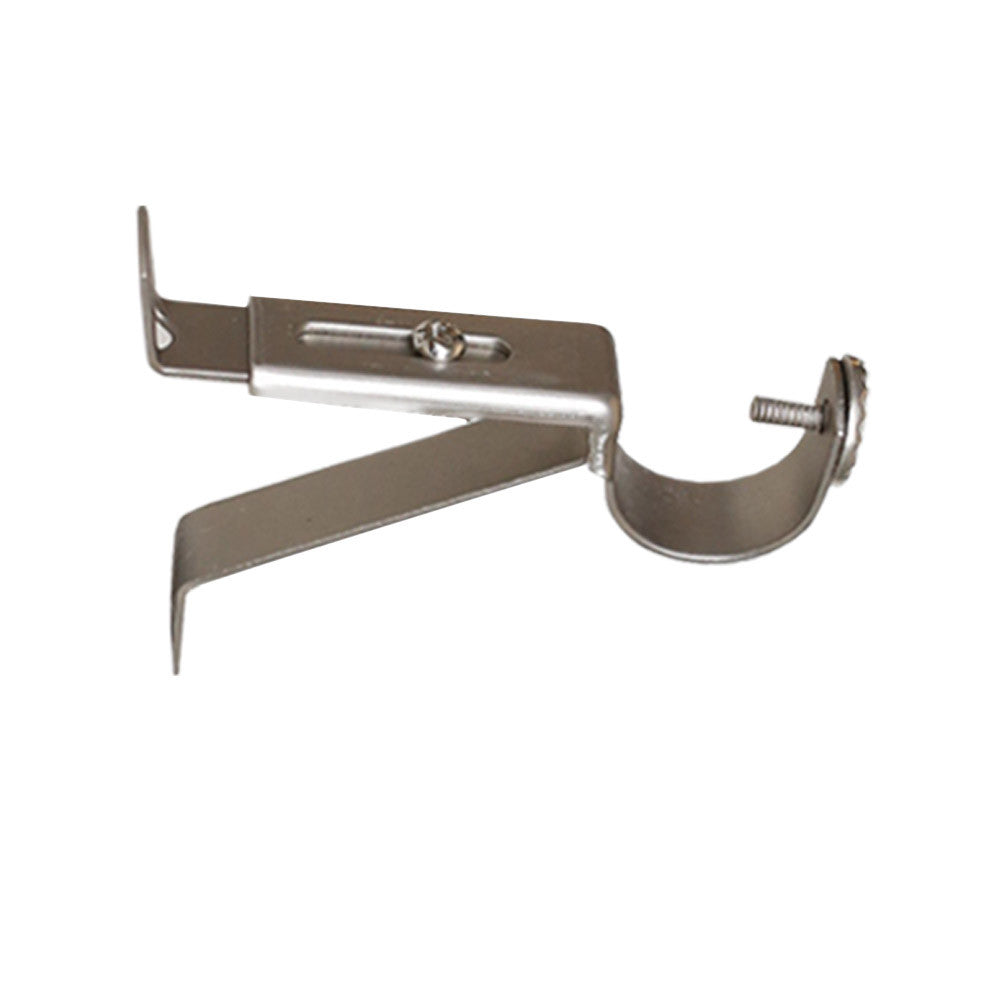 Pewter wall bracket drapery hardware from Tonic Living