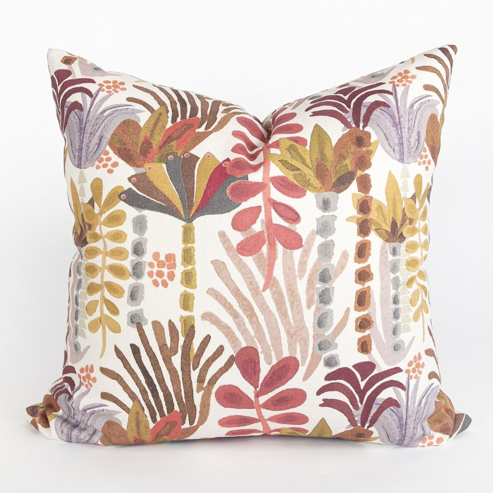 Huntington pillow with Justina Blakeney floral fabric, from Tonic Living