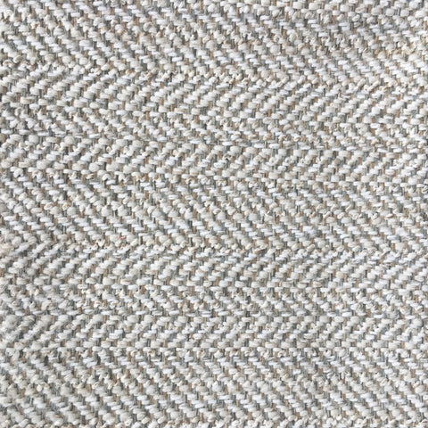 Tweedle Dee, Cream - High Performance Upholstery cream and taupe herringbone weave.