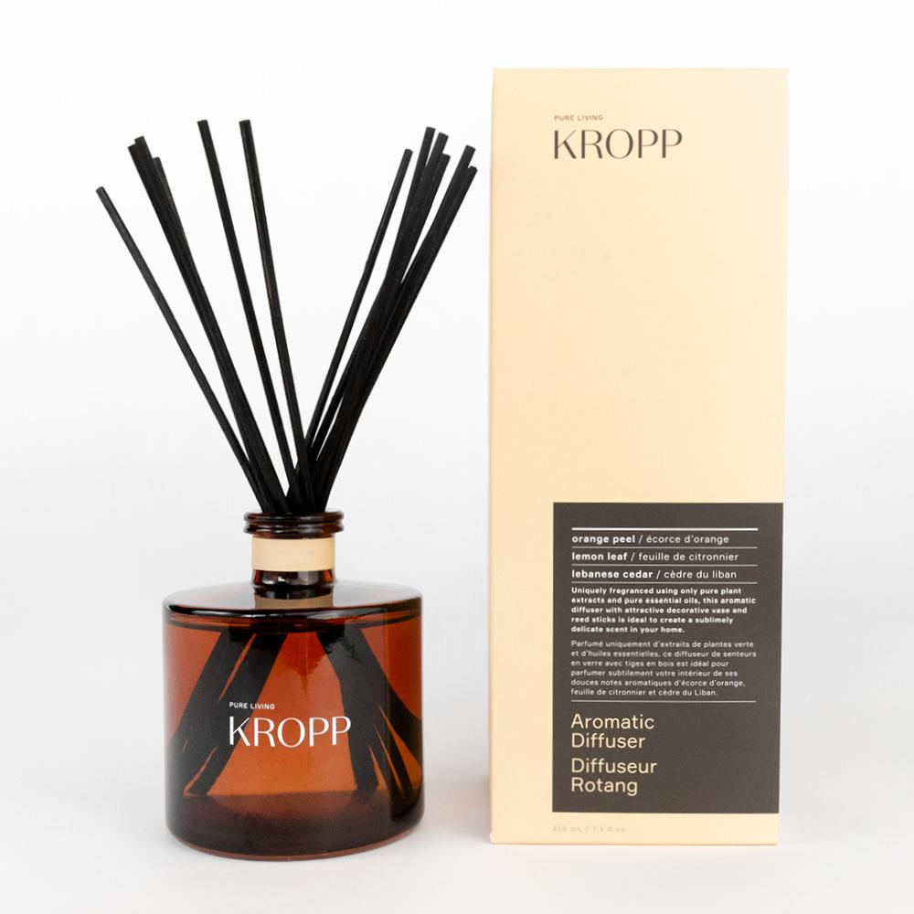 Kropp Aromatic Diffuser, an orange, lemon and cedar fragranced diffuser from Tonic Living