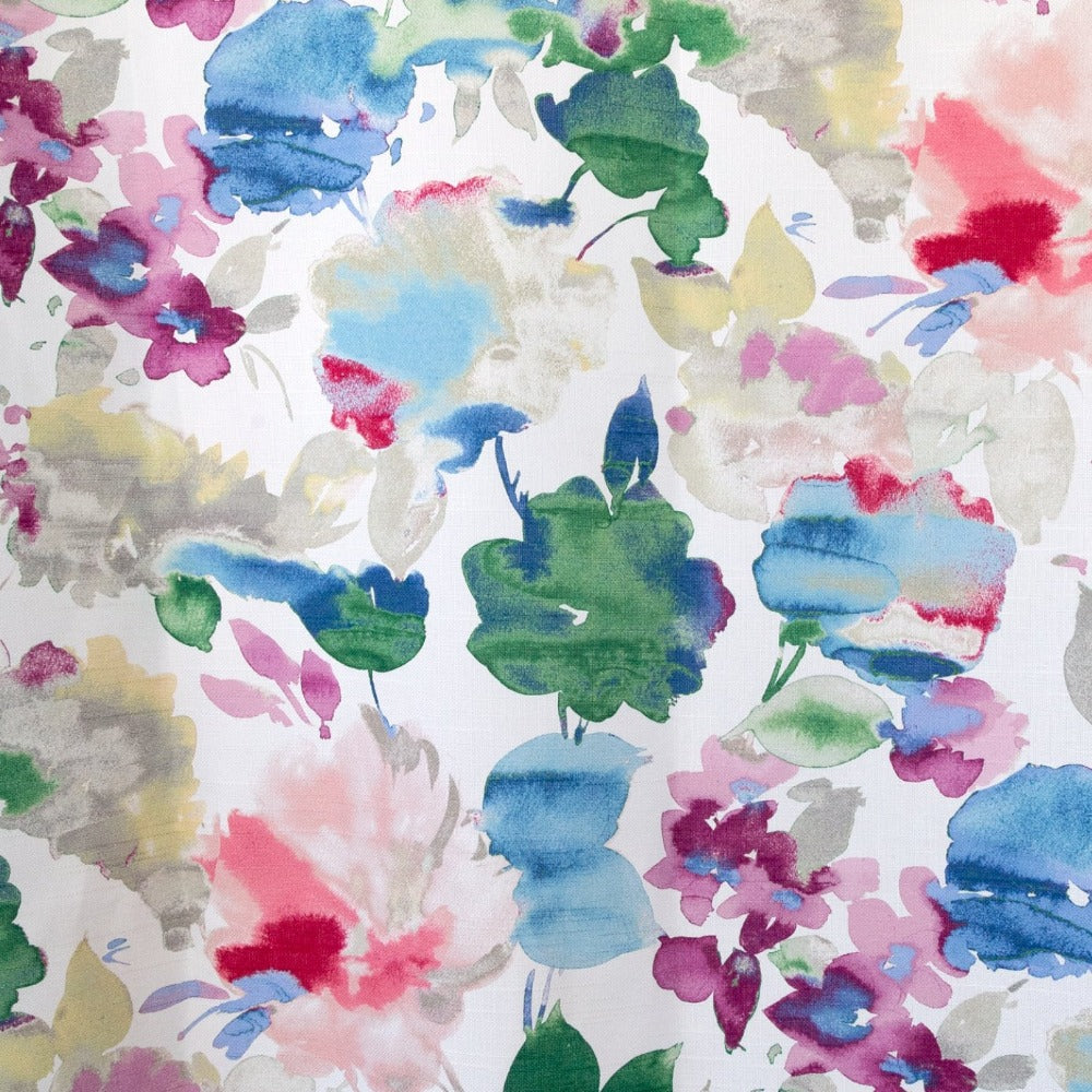 Lucie Fabric, watercolour floral from Tonic Living