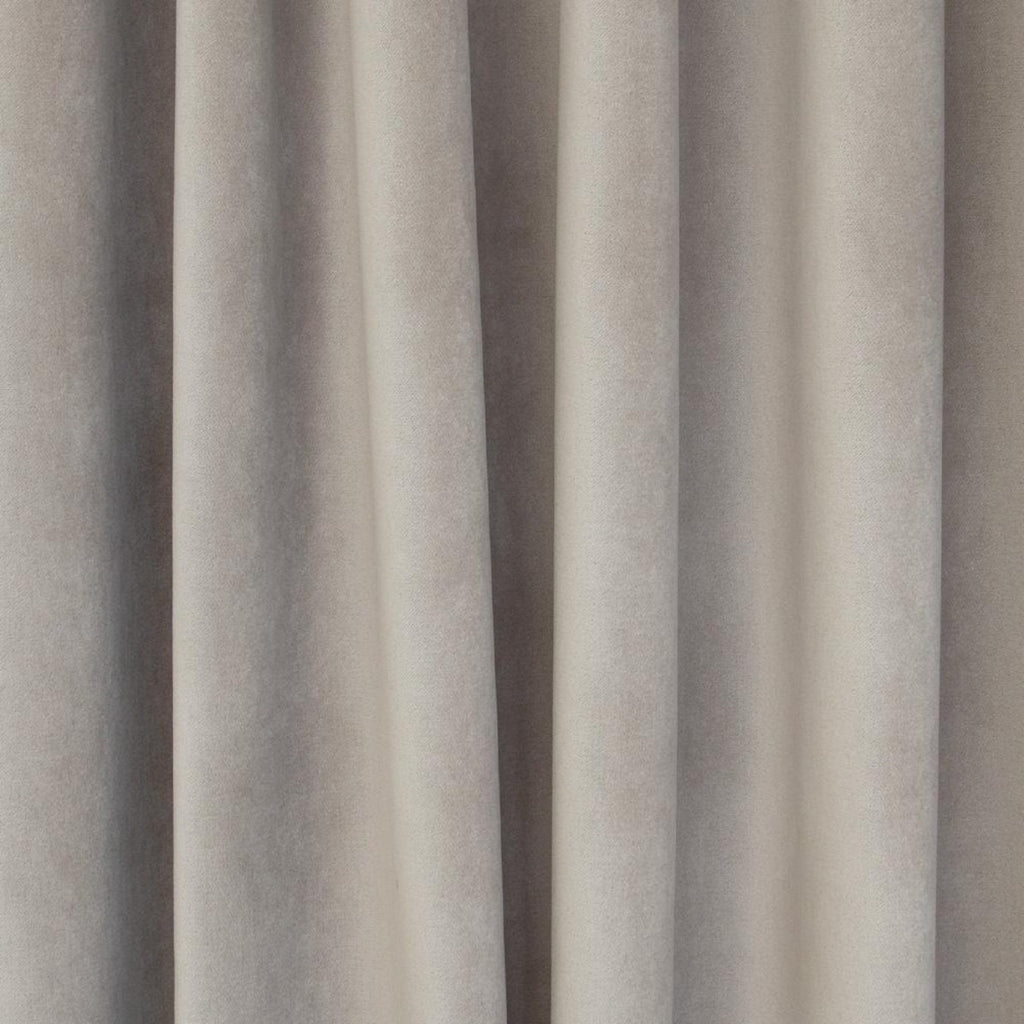 Mason Velvet Mushroom, a warm grey velvet from Tonic Living