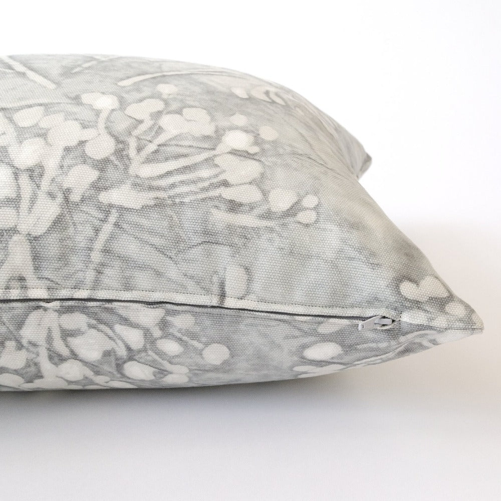 Meadow pillow grey floral from Tonic Living