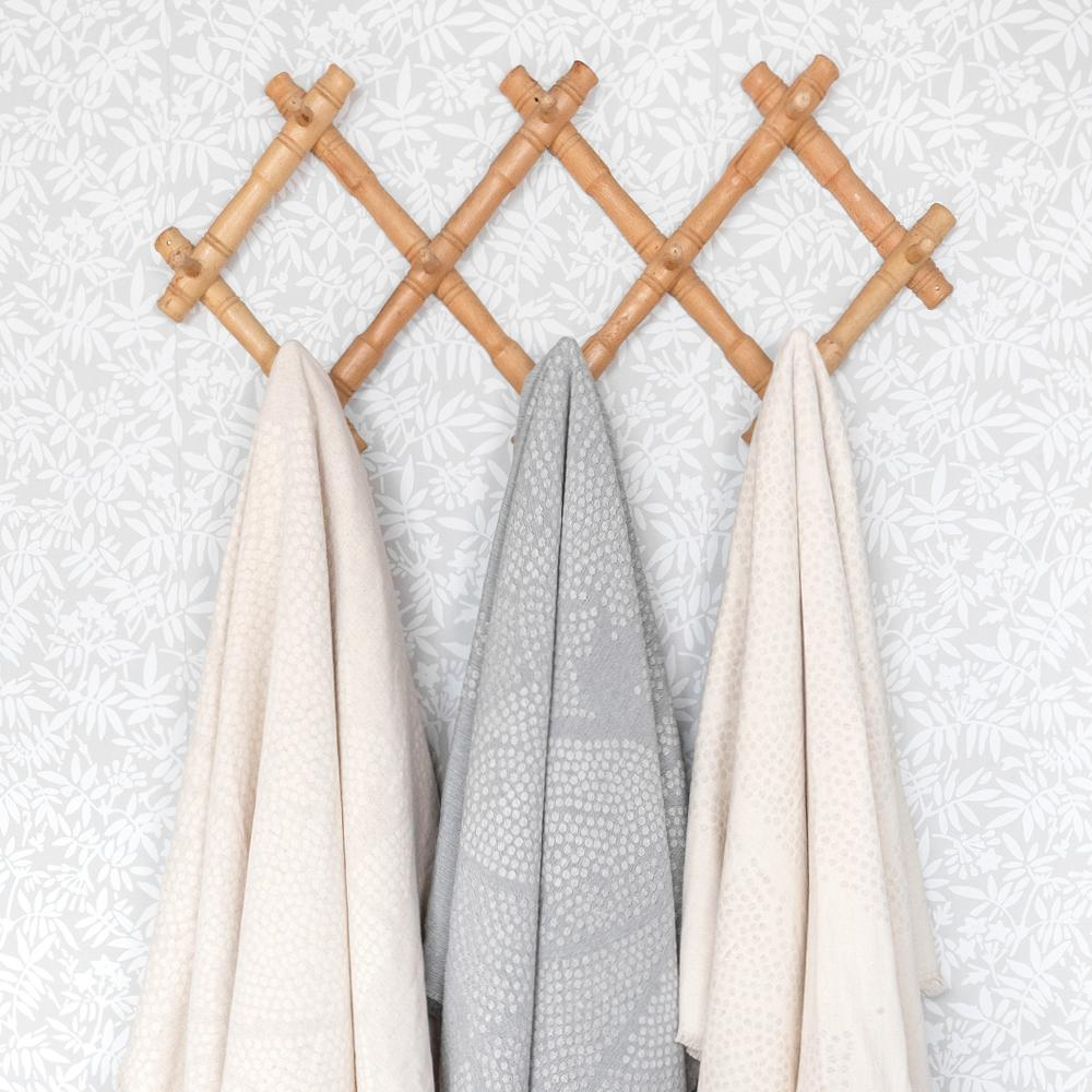 Mira Natural and Stone lightweight Portuguese throws from Tonic Living
