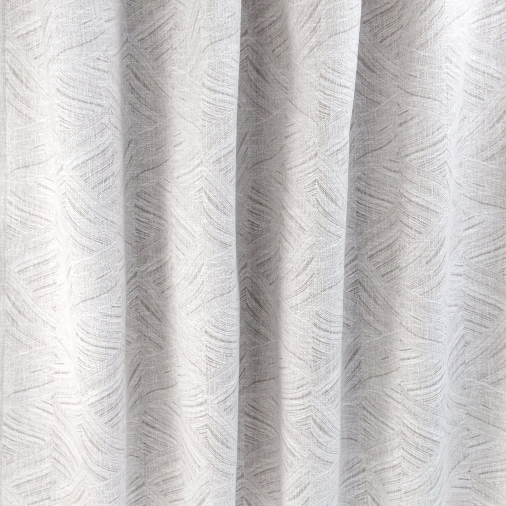 Muro soft grey waves, fabric from Ellen Degeneres