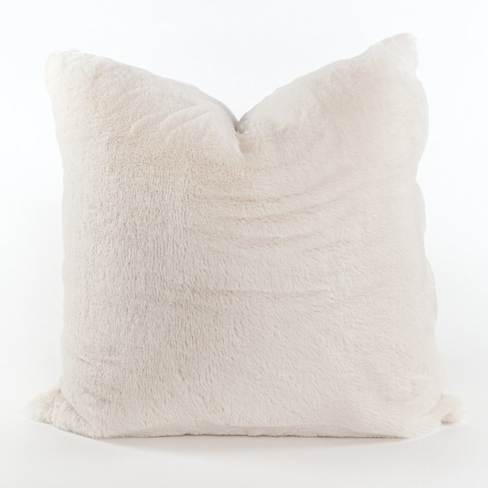 Oslo faux fur pillow from Tonic Living