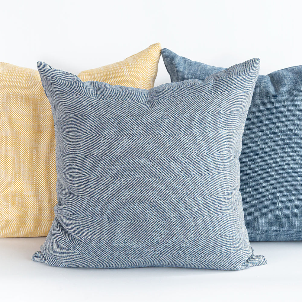 Colourful outdoor pillows by Tonic Living