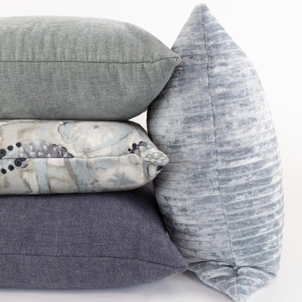 Tonic Living Blue pillows